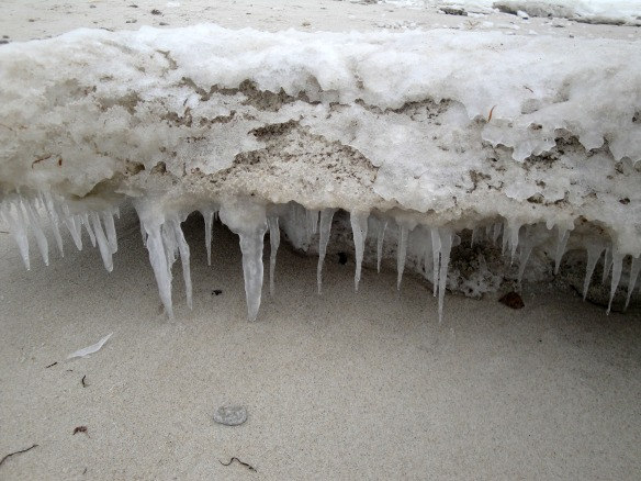 sand icicles