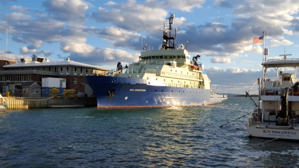 Woods Hole research vessel